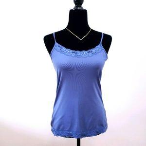 Camisole Periwinkle Blue Lace Stretch REITMANS